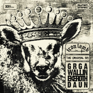 Iron Lamb - The Original Sin - LP + 7""
