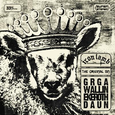 "Iron Lamb - The Original Sin - LP + 7"""
