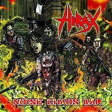 Hirax - Noise Chaos War - LP