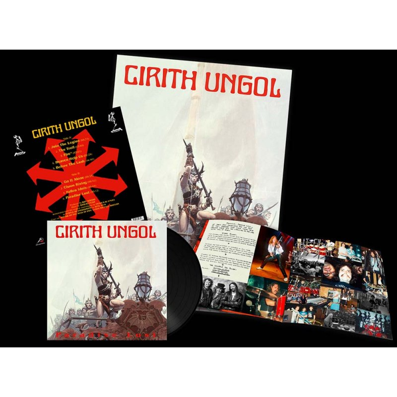 Cirith Ungol- Paradise Lost - LP