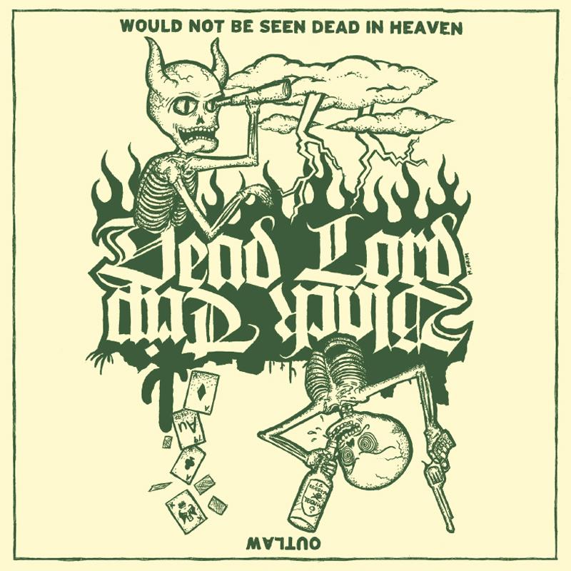 """Black Trip / Dead Lord 7"""""""
