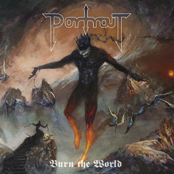 Portrait – Burn The World - LP (violet red)