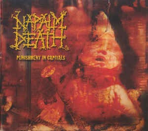 Napalm Death ‎– Punishment In Capitals - CD