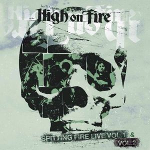 High On Fire - Spitting Fire Live Vol. 1& 2 - DLP (red)