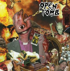 Open Tomb – Dead Weight - LP (red splatter)