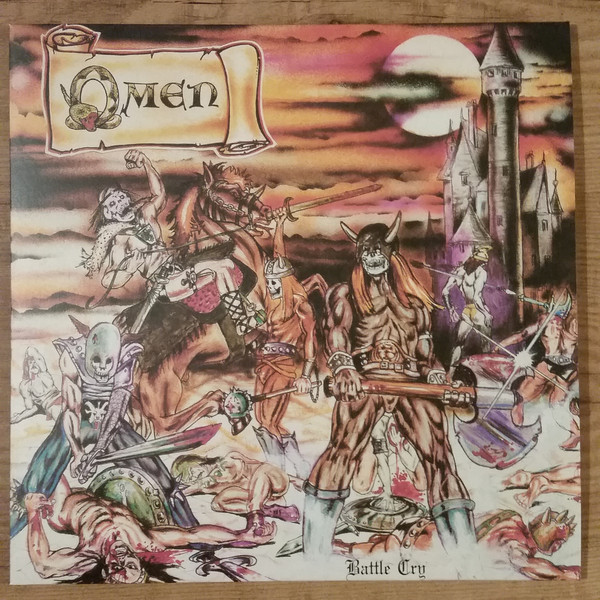 Omen - Battle Cry - LP (deep violet marbled)