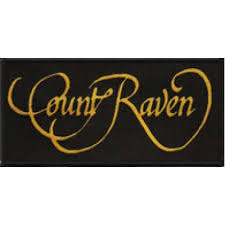 Count Raven - logo - Patch