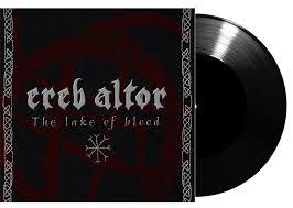Ereb Altor ‎– The Lake Of Blood - 7""