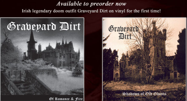 "Graveyard Dirt - Of Romance/Shadows - 10""/12"" bundle"