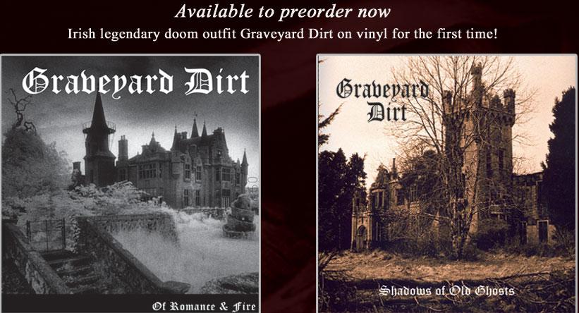"Graveyard Dirt - Of Romance/Shadows - 10""/12"" bundle"