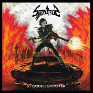 Speedtrap - Straight Shooter - LP (transparent red)