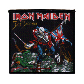 Iron Maiden The Trooper Patch Sentinel Records